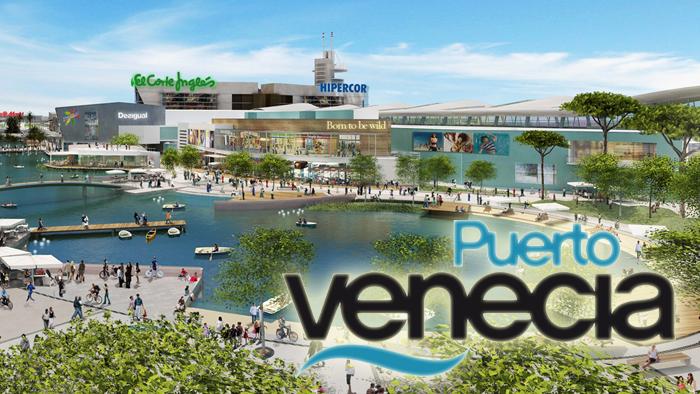 Descubre El Centro Comercial Más Grande De Europa Puerto Venecia