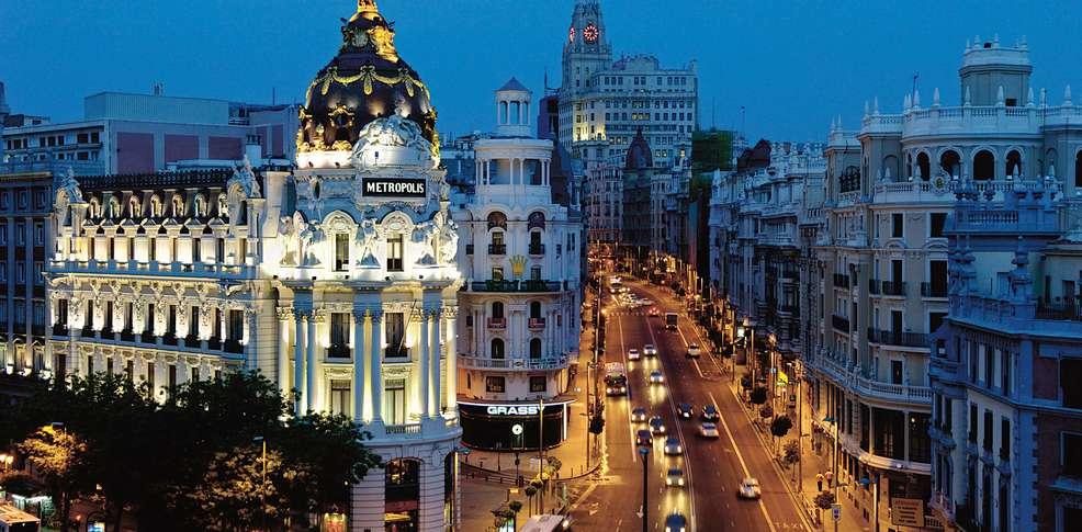 Calle Alcalá Madrid