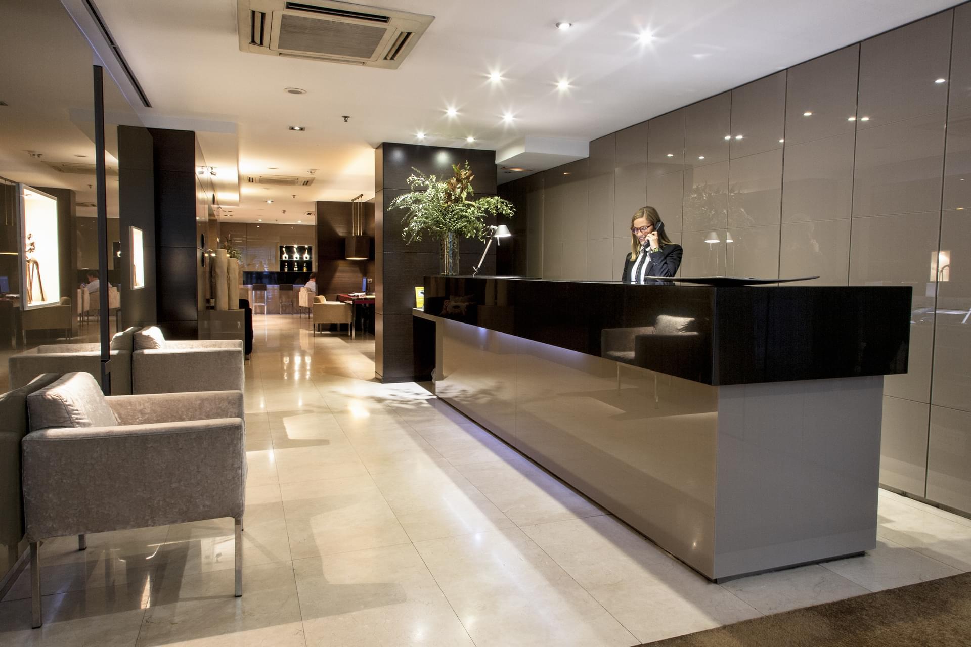 Recepción - Hotel Zenit Barcelona