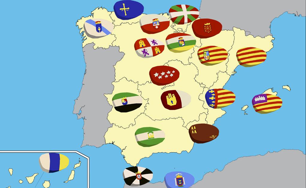 mapa autonómicas